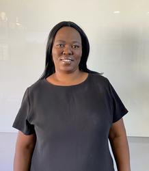 Gloria Sithole, estate agent